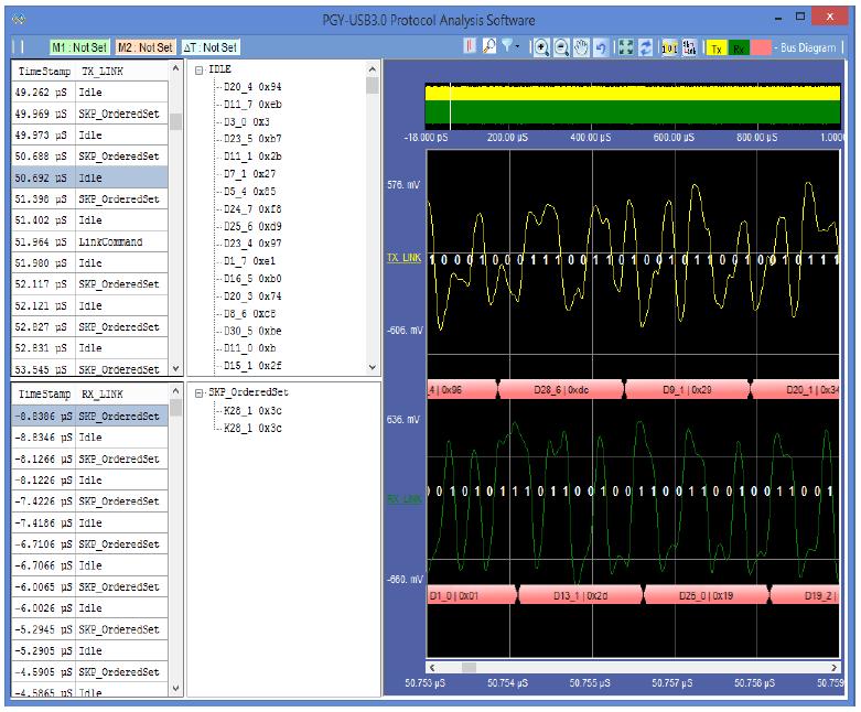 PGY-USB3.0 Protocol Analysis Software